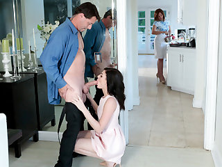 Jessica Rex in Risky Birthday Capers With Stepdad - FamilyStrokes